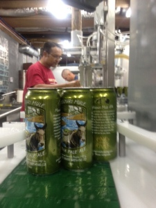 Missouri Mule on the canning line.
